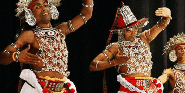 danza cingalesa