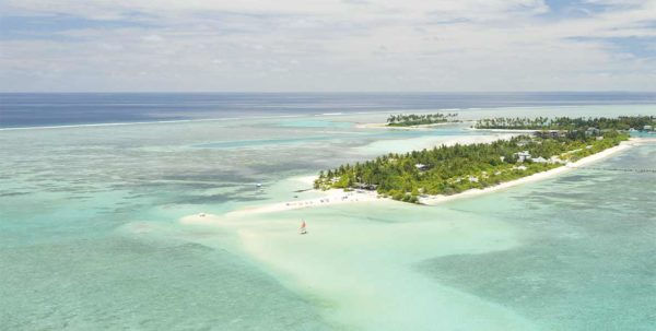 vista aerea de Fun Island Resort Maldives