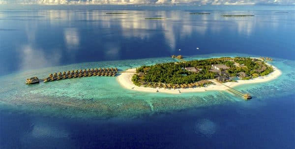Foto aerea Kudafushi Resort & Spa