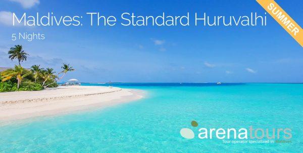 oferta de viaje a Maldivas en The Standard Huruvalhi 5 noches en verano 2020