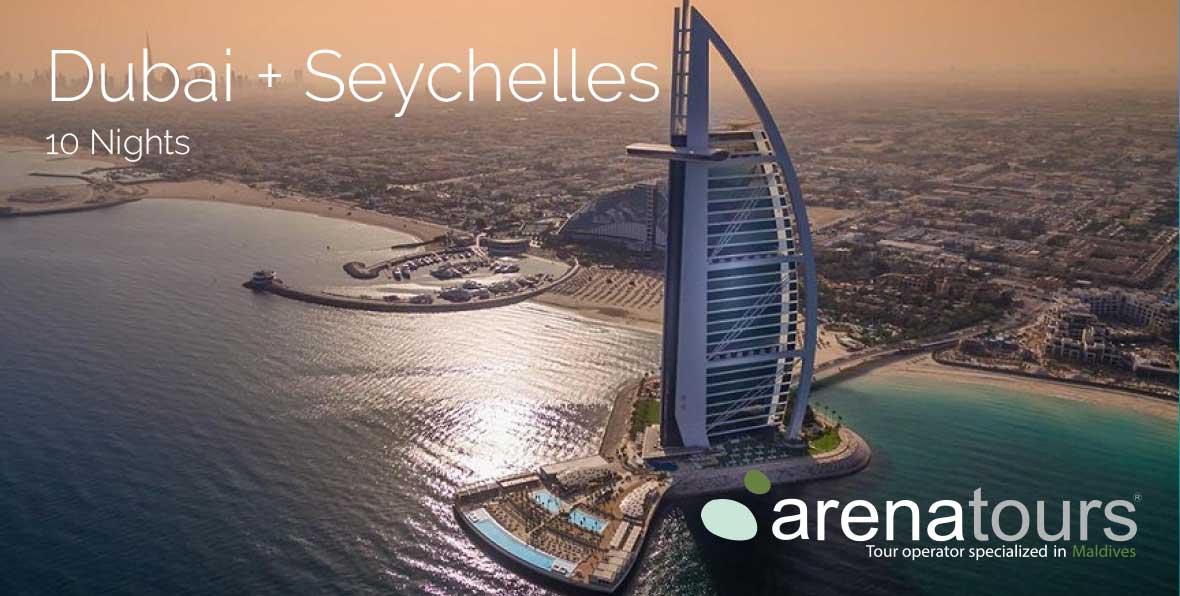 Viaggio combinato Dubai + Seychelles, 10 notti