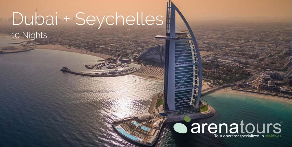 Viaje combinado Dubai + Seychelles, 10 noches