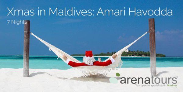 natale alle Maldive nel Amari Havodda Resort 5*