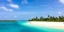 la playa del Noku Maldives