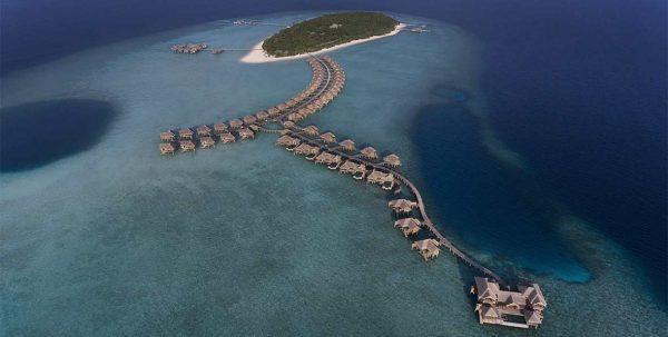 foto aeréa Vakkaru Maldives