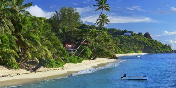 vista aerea DoubleTree Resort by Hilton Seychelles