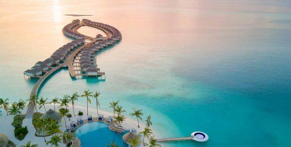 kandima maldive: vista aerea