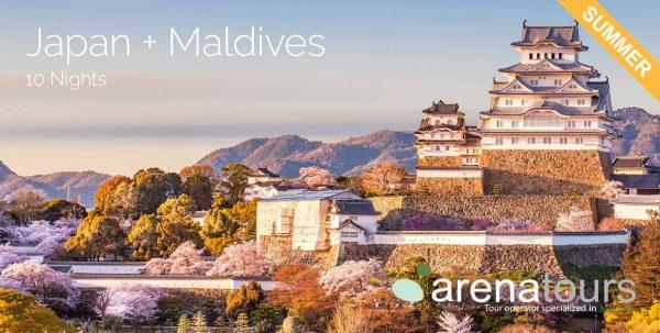 oferta de viaje a Japón + Maldivas