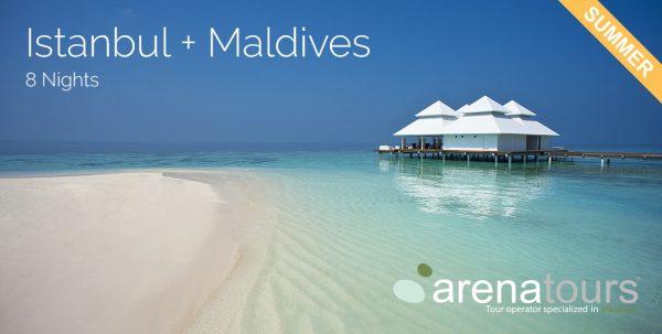 oferta de viaje a estambul y Maldivas 8 noches verano 2020