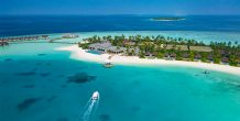 Carpe Diem Maldives, foto aérea