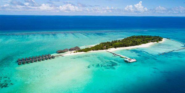Summer Island, vista aérea