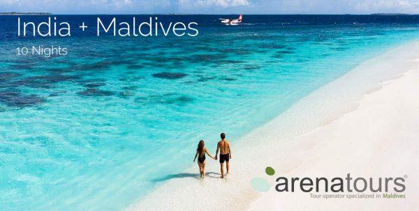 viaje combinado India + Maldivas en Reethi Faru