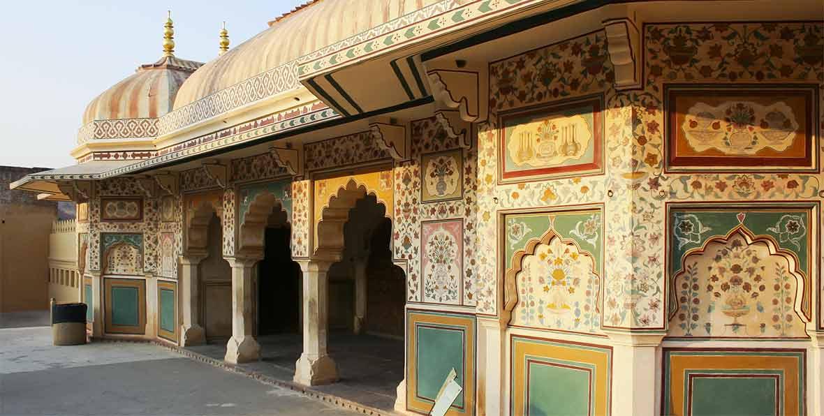 viaje a India: visita del fuerte de Amber en Jaipur