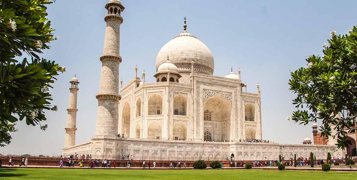 viaje a India: visita del Taj Mahal