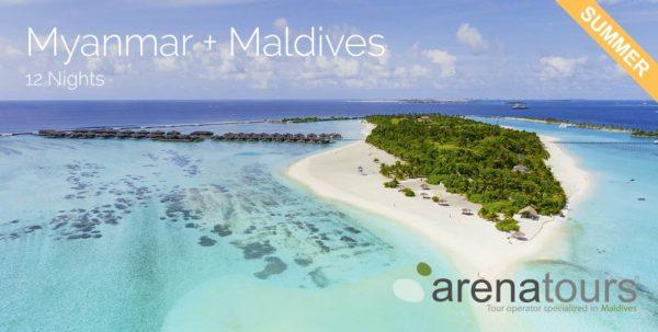 viaje combinado Myanmar + Maldivas 11 noches verano 2020