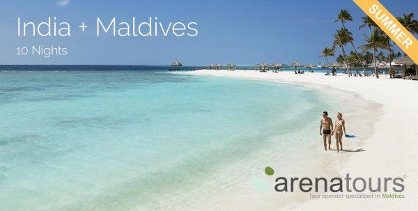 viaje co,binado India + Maldivas 10 noches verano 2020
