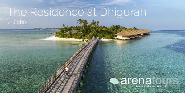 oferta de viaje a The Residence Dhigurah Maldives