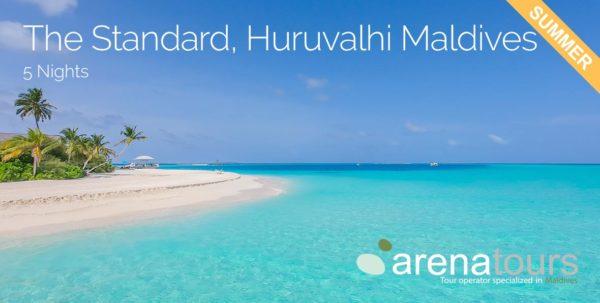 vije a maldivas en The Standard Huruvalhi Maldives