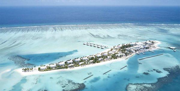 Riu Atoll Maldives, vista aéreas
