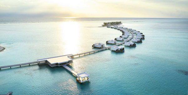 Riu Palace Maldives al atardecer