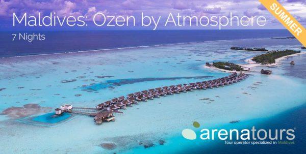 luna de miel en Maldivas todo incluido en OZEN by Atmosphere