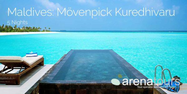 oferta de viaje a Maldivas en Movenpick Resort