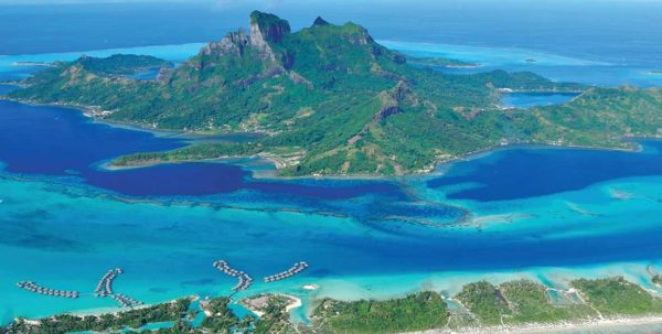 paisajes naturales en Four Seasons Resort Bora Bora