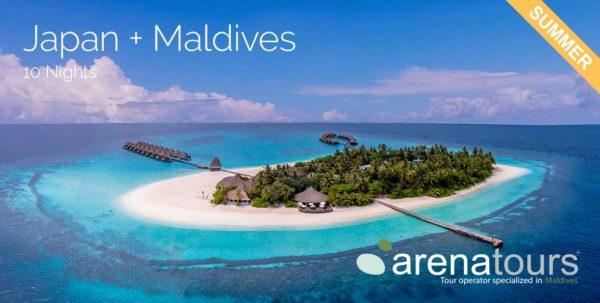 viaggio alle Maldive +Giappone