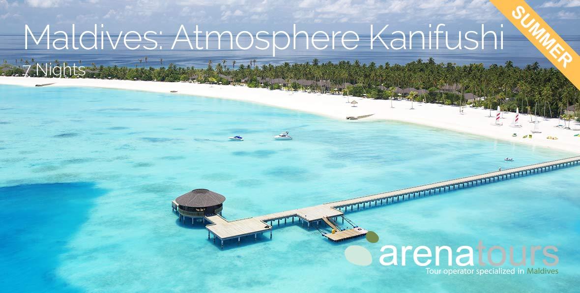 Viaggio alle Maldive in famiglia: 7 notti nel Atmosphere Kanifushi