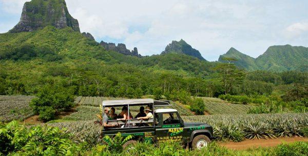 safari en 4x4 en Polinesia Francesa