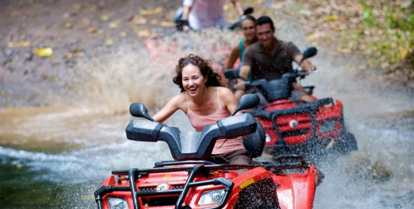 excursión en quad en polinesia francesa