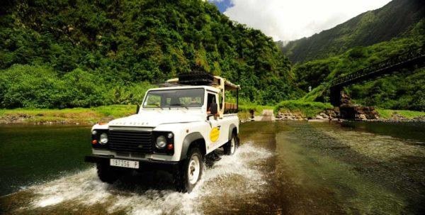 safari en 4 x 4 en tahiti