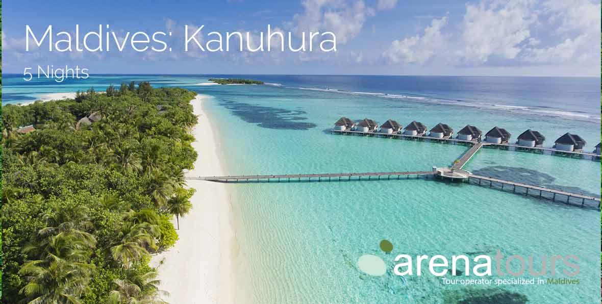 Offre de Voyage aux Maldives: 5 nuits à Kanuhura Maldives