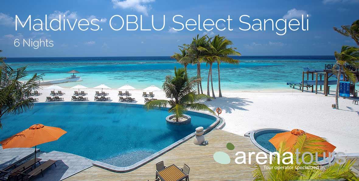 Viaje a Maldivas en OBLU Select at Sangeli, 6 noches