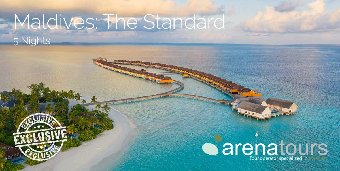 Viaggio alle Maldive nel The Standard, Huruvalhi Maldives, 5 notti