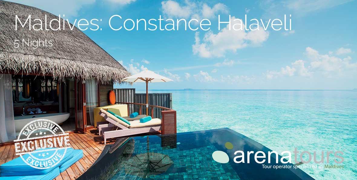 Oferta de viaje a Maldivas en Constance Halaveli, 5 noches