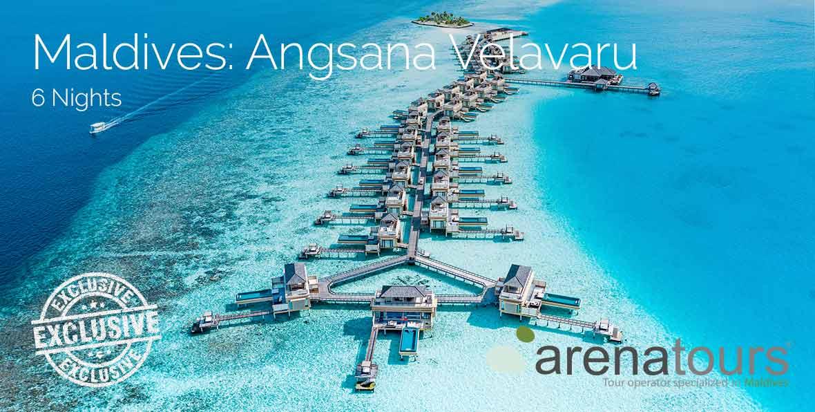 Offerta di viaggio alle Maldive nel Angsana Velavaru, 6 notti