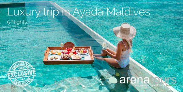 viaje de lujo a Maldivas en Ayada Maldives