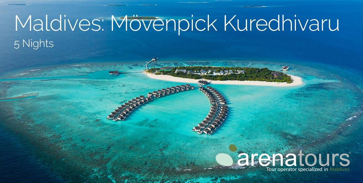 Oferta de viaje a Maldivas: 5 noches en Mövenpick Resort Kuredhivaru Maldives