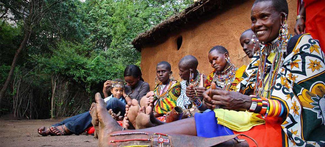 Kenia: Visita poblado Masai