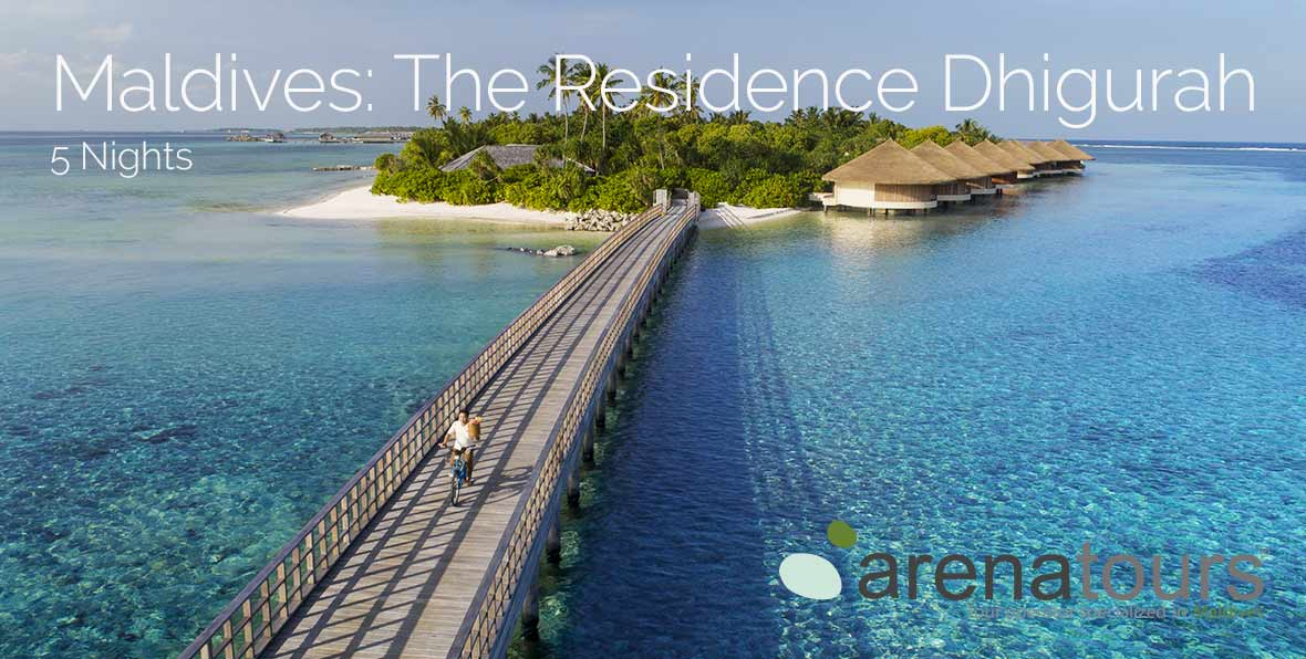 Oferta de viaje a Maldivas en The Residence Dhigurah, 5 noches