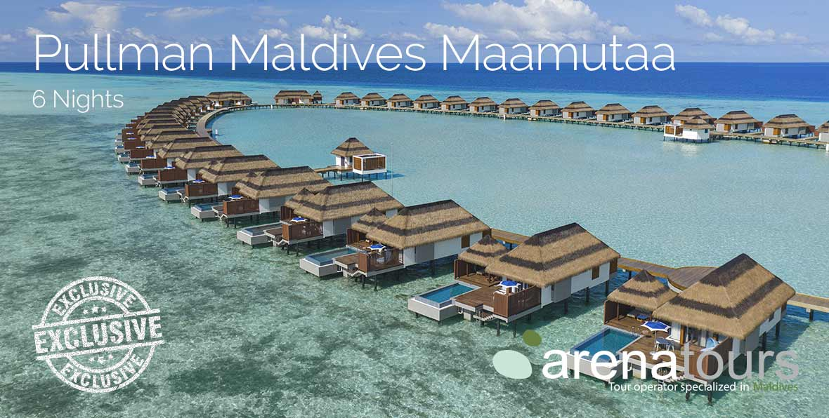 Viaje a Maldivas en Pullman Maldives Maamutaa, 6 noches