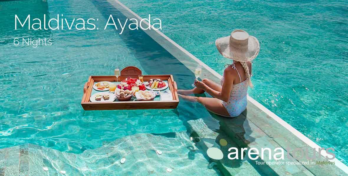 Viaggio alle Maldive All Inclusive: 6 notti nell'Ayada Maldives