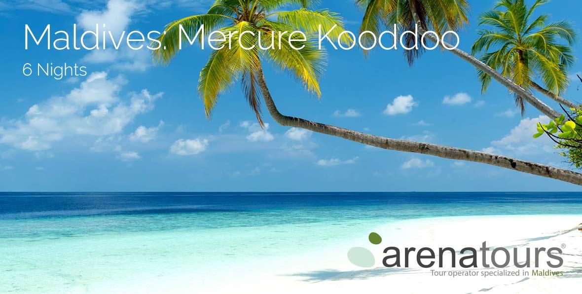 Voyagez aux Maldives au Mercure Maldives Kooddoo, 6 nuits
