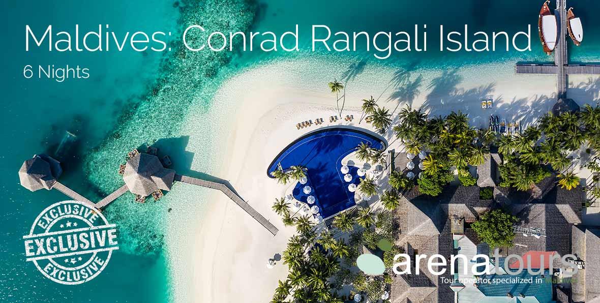 Oferta de viaje a Maldivas: 6 noches en Conrad Maldives Rangali Island