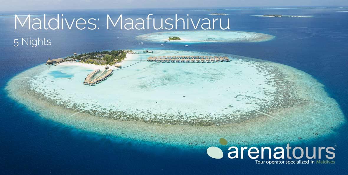 Oferta de viaje a Maldivas: 5 noches en Maafushivaru Maldives