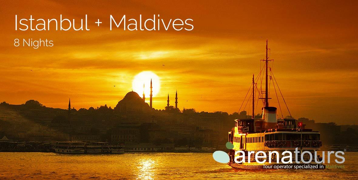 Viaje combinado Estambul + Maldivas, 8 noches