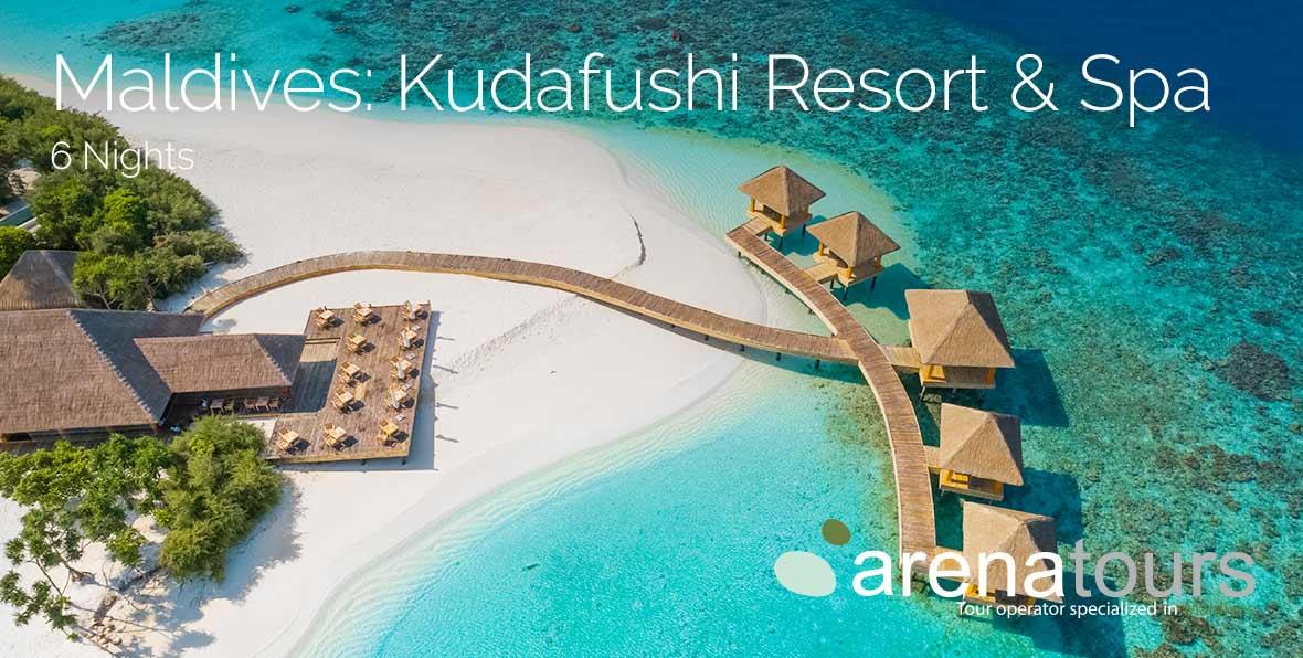 Viaje a Maldivas last minute en Kudafushi Resort & Spa, 6 noches