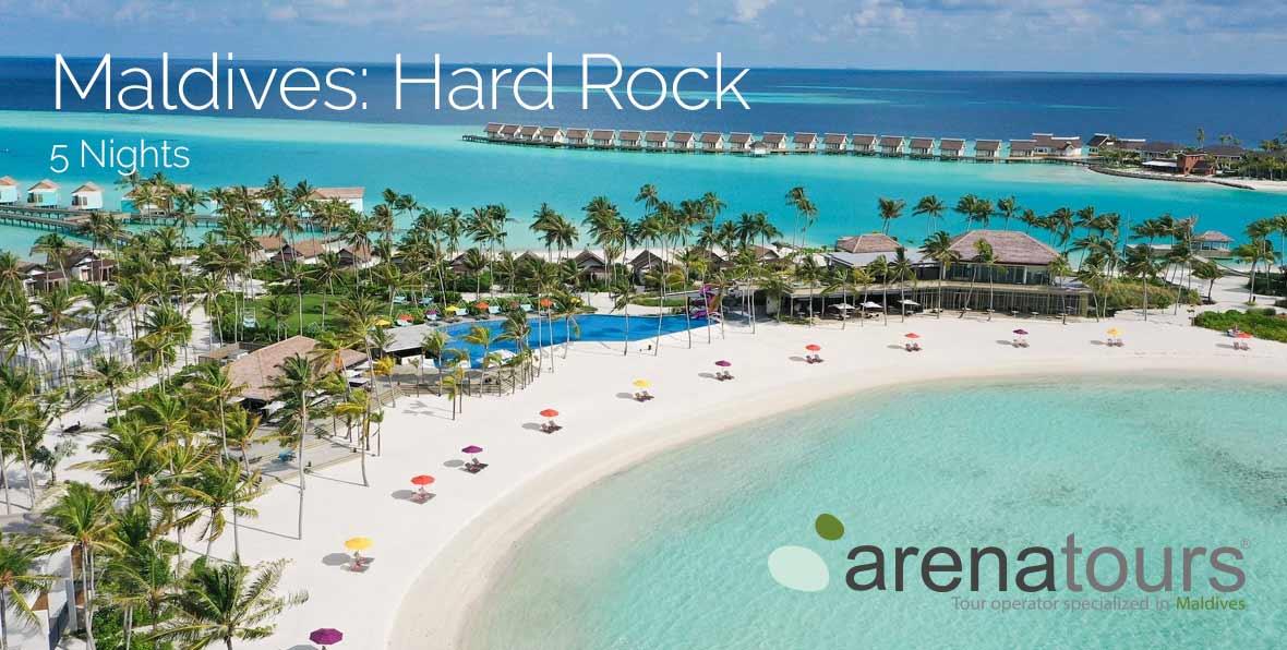 Oferta de viaje a Maldivas: 5 noches en Hard Rock Hotel Maldives