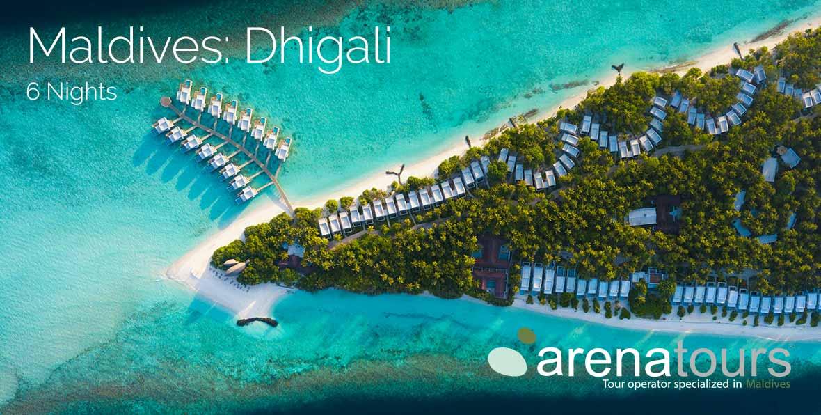 Offerta di viaggio alle Maldive nel Dhigali Maldives, 6 notti